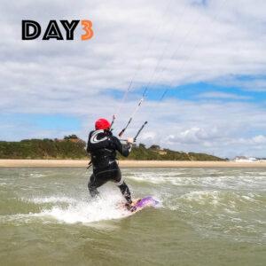 kitesurfing lessons day3
