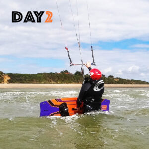 kitesurfing lessons day2