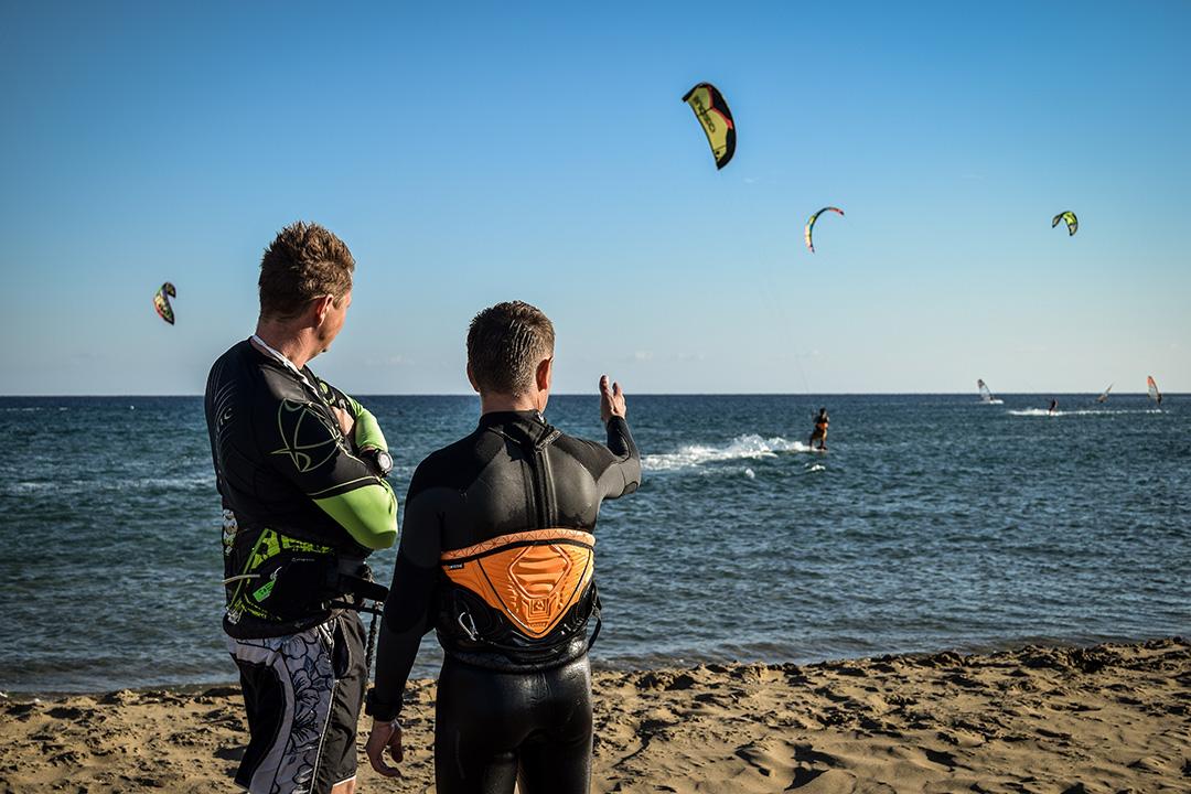 kitesurfing lessosns